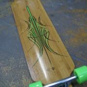 Longboard green/black