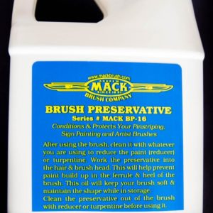 Mack brush oil